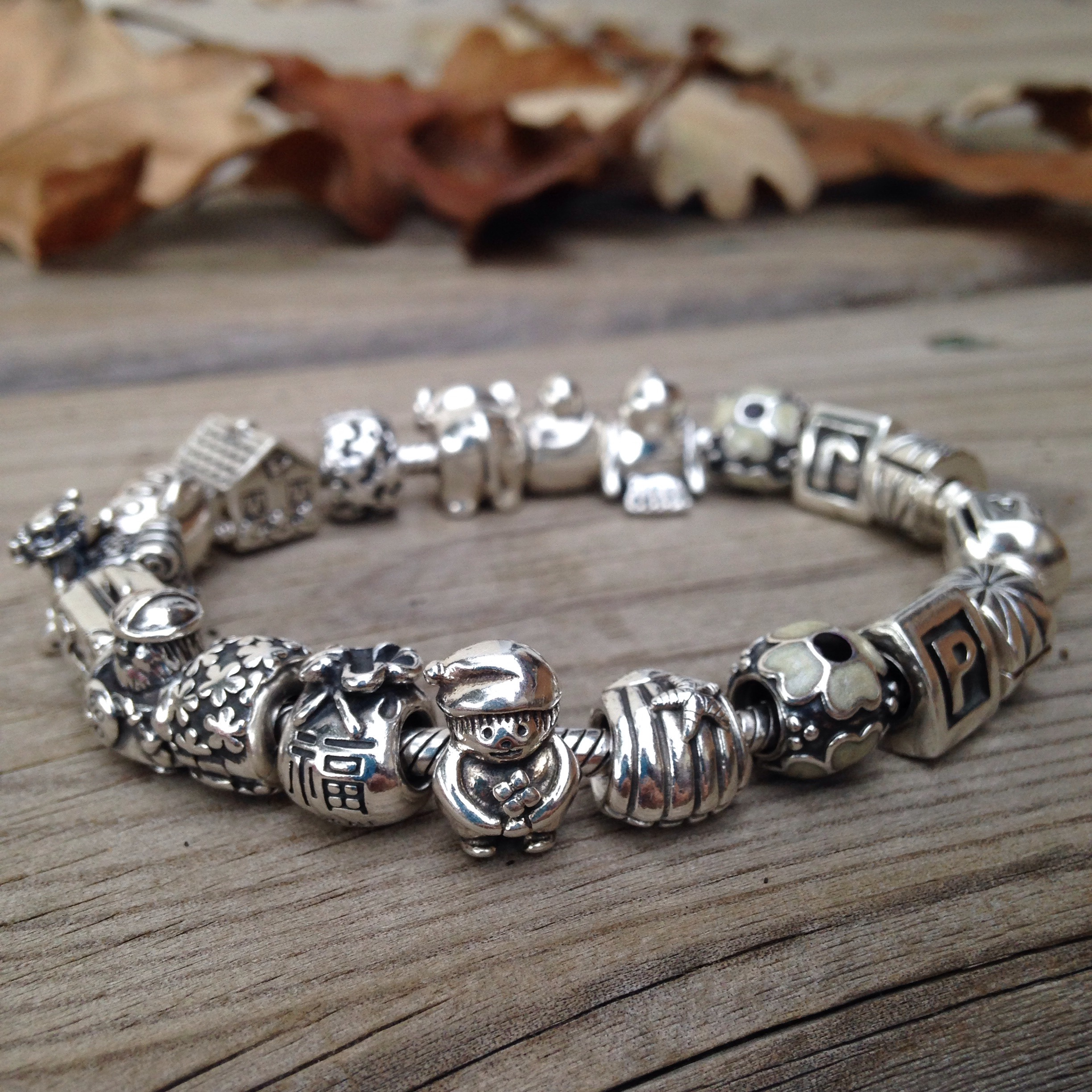 of set cool design ideas pretty charm bracelet jewelry silver pandora letters pinterest for and super inside handstamped bangle inset bangles with charms bracelets heart mom argentium