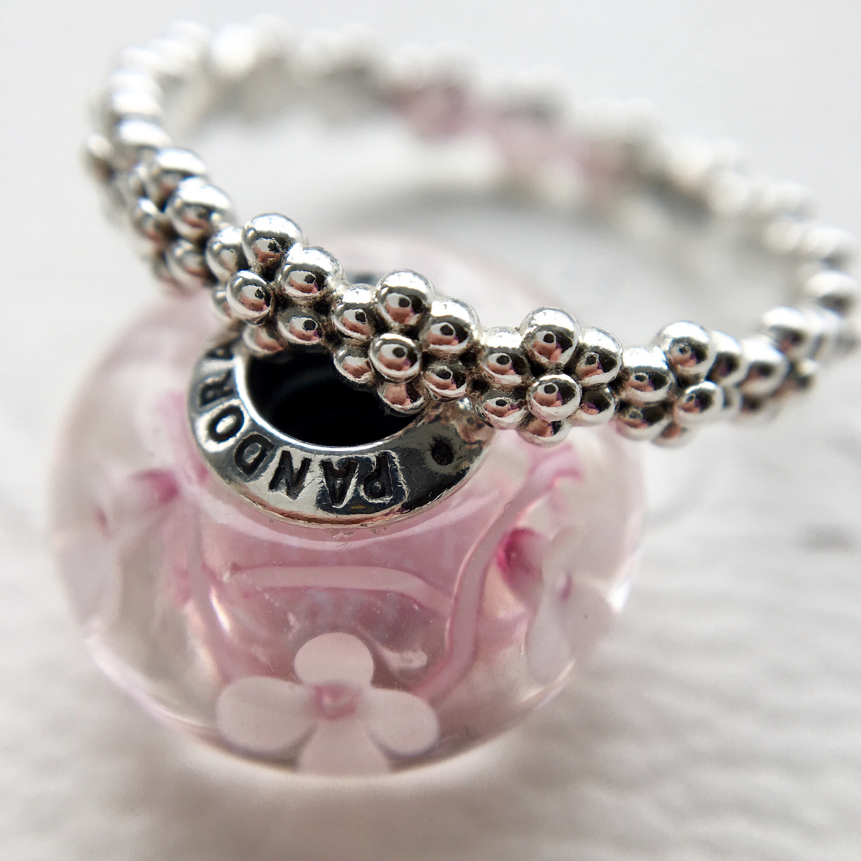 Pandora Field Of Flowers And Sweet Daisies Ring Marthnickbeads